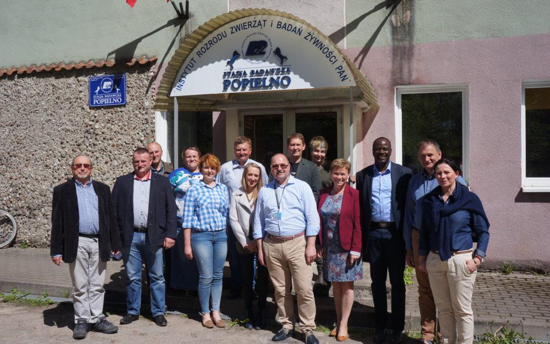 """Działanie 16 """"Współpraca"""" PROW 2014-2020. Kolejne spotkanie członków planowanego konsorcjum dot. projektu badawczego."""